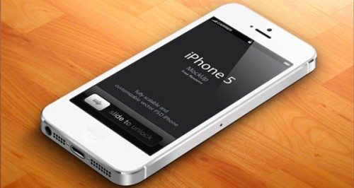 free-psd-iphone5-white-3d-mockup